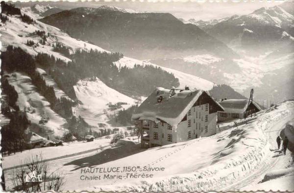 Hauteluce chalet Marie Therese