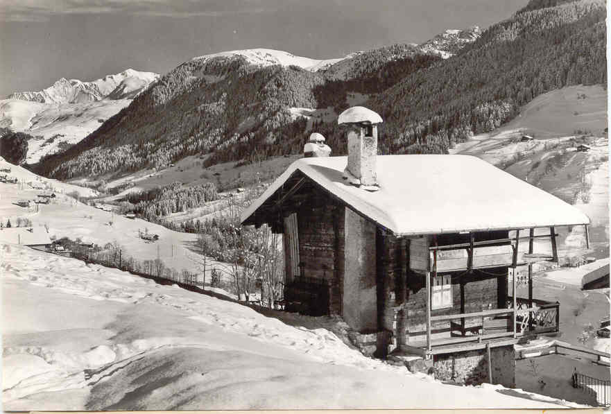 Hauteluce chalet Mt Blanc
