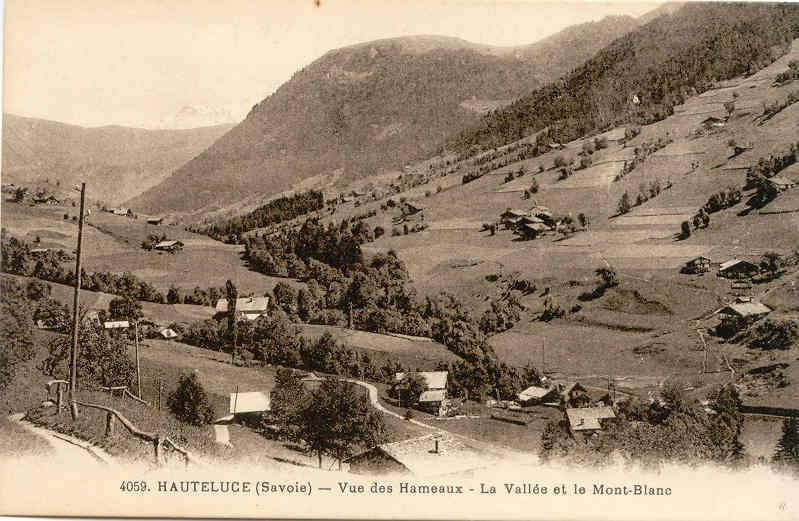Hauteluce Mt Blanc