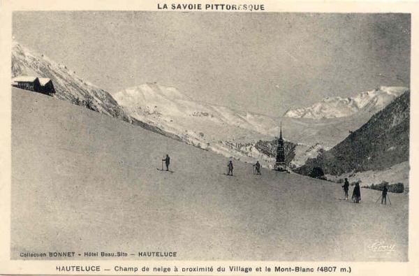 Hauteluce skieurs
