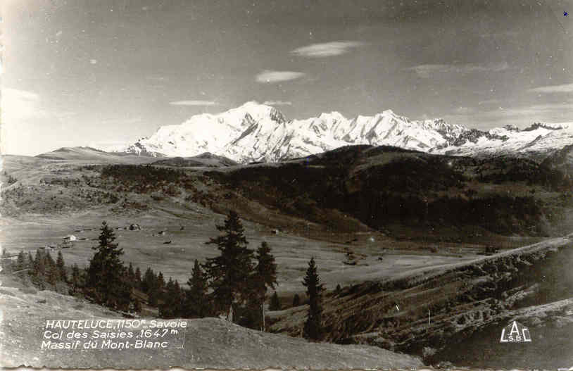 Les Saisies Mt Blanc