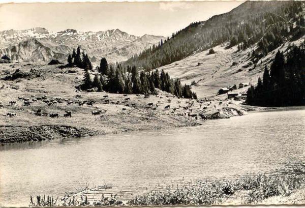 Lac Roselend avant