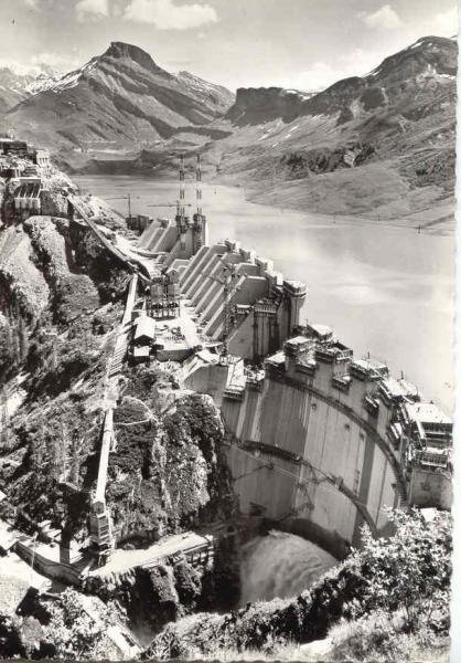Barrage mise en eau