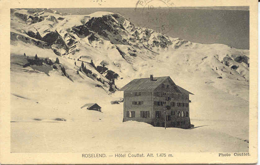 hotel Couttet hiver