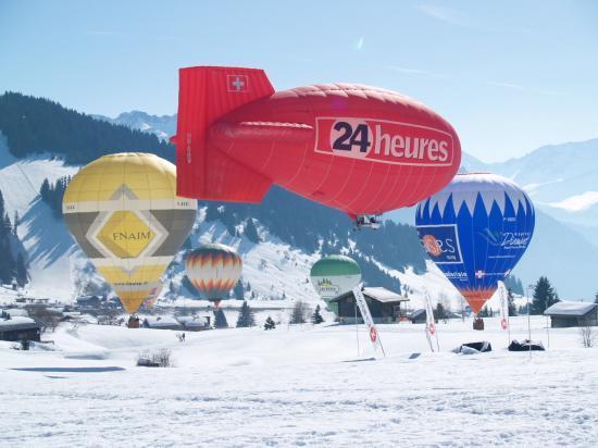 28e jeux aériens des Saisies mars 2009