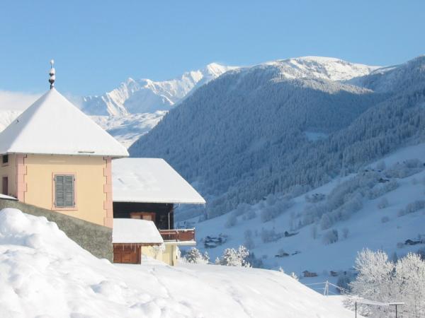 Mont Blanc vu du Praz