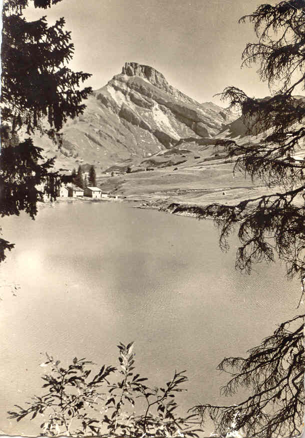 Roselend bout lac Treicol