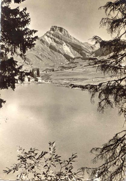 Roselend bout du lac Treicol